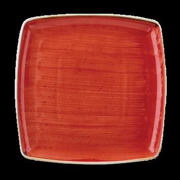 Stonecast Berry Red bord vierkant diep 26.6 cm