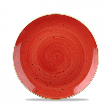 Stonecast Berry Red coupe bowl 24,8 cm