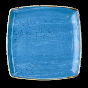 Stonecast Cornflower Blue bord vierkant diep 26,8 cm