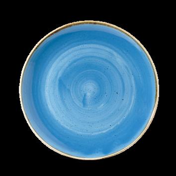 Stonecast Cornflower Blue coupe bowl 24,8 cm