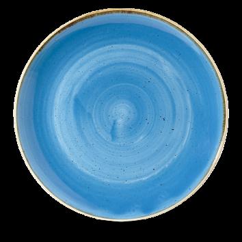 Stonecast Cornflower Blue coupe bowl 31 cm