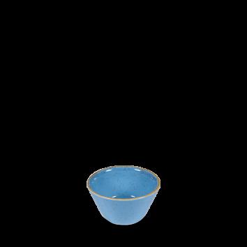 Stonecast Cornflower Blue sauce dish 9 cl