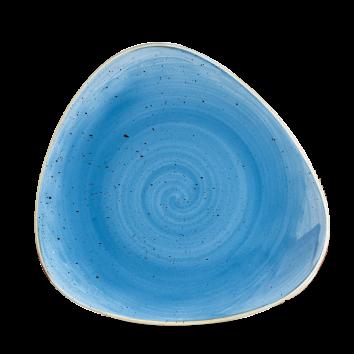Stonecast Cornflower Blue triangle bord 22,9 cm