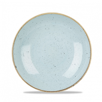 Stonecast Duck Egg Blue coupe bowl 24,8 cm