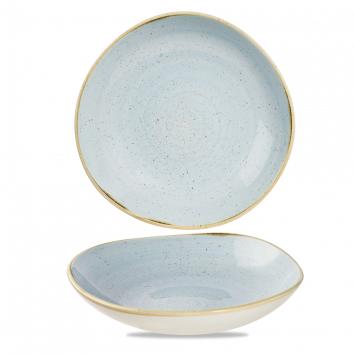 Stonecast Duck Egg Blue organic diep coupe bord 25,3 cm