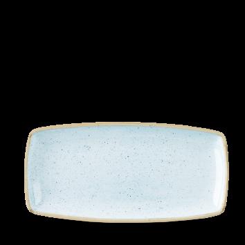 Stonecast Duck Egg Blue oblong plate 29,5 x 15 cm