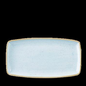 Stonecast Duck Egg Blue oblong plate 35 x 18,5 cm