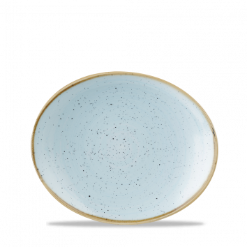 Stonecast Duck Egg Blue coupe bord ovaal 19,2 cm