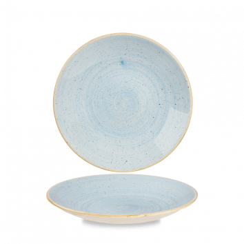 Stonecast Duck Egg Blue diep coupe bord 22,5 cm