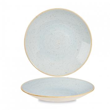Stonecast Duck Egg Blue diep coupe bord 25,5 cm