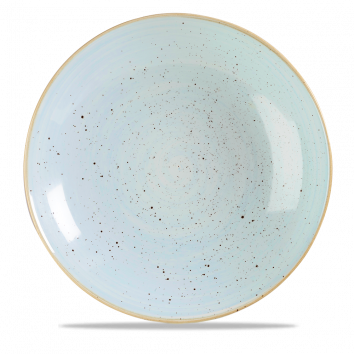 Stonecast Duck Egg Blue coupe bowl 31 cm