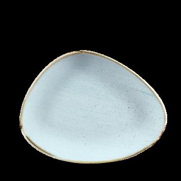 Stonecast Duck Egg Blue chef`s triangle bord 26 cm