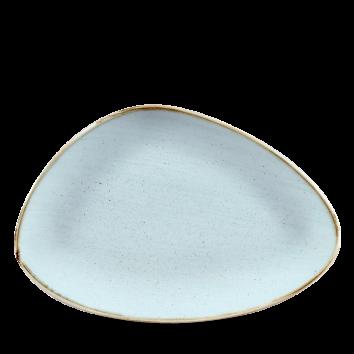 Stonecast Duck Egg Blue chef`s triangle bord 30 cm