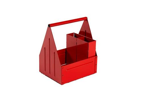 tafelcaddy Red 17 x 14 x 22(h) cm