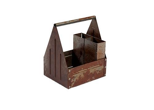 tafelcaddy Rust 17 x 14 x 22(h) cm