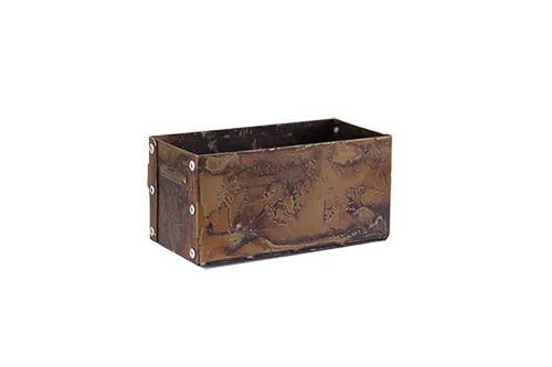 Toolbox Rust 14,5 x 7 x 7(h) cm