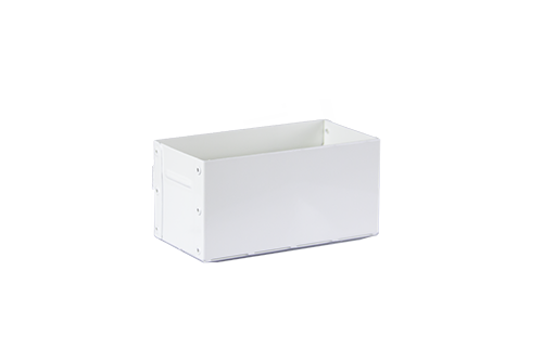 Toolbox White 14,5 x 7 x 7(h) cm