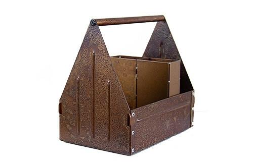 tafelcaddy Rust large 21,5 x 14 x 21(h) cm