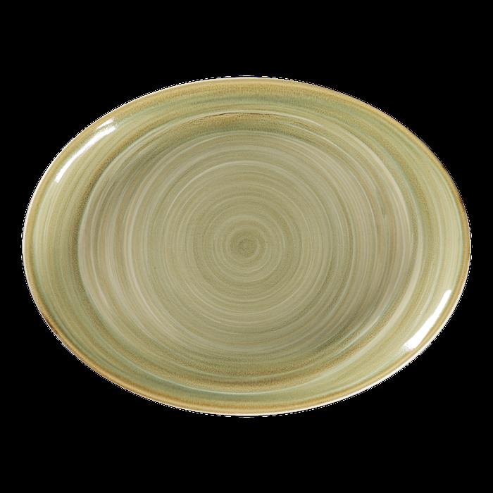 RAK Spot Emerald bord ovaal 36 x 27 cm