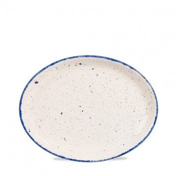 Churchill Stonecast Hints ovaal bord 25,4 cm