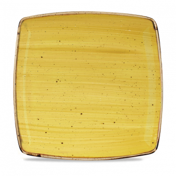 Stonecast Mustard Seed Yellow bord vierkant diep 26,8 cm