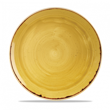 Stonecast Mustard Seed Yellow coupe bord 28,8 cm