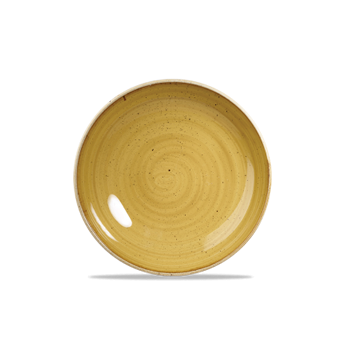 Stonecast Mustard Seed Yellow coupe bord 16,5 cm