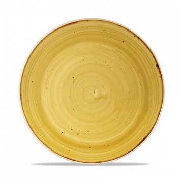Stonecast Mustard Seed Yellow coupe bord 21,7 cm