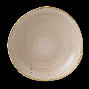 Stonecast Nutmeg Cream organic diep coupe bord 25,3 cm