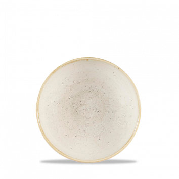 Stonecast Nutmeg Cream coupe bowl 18,2 cm