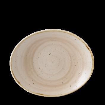 Stonecast Nutmeg Cream coupe bord ovaal 19,2 cm