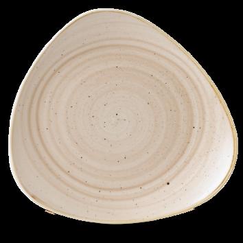 Stonecast Nutmeg Cream triangle bord 31,1 cm