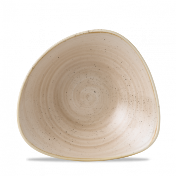 Stonecast Nutmeg Cream triangle bowl 18,5 cm