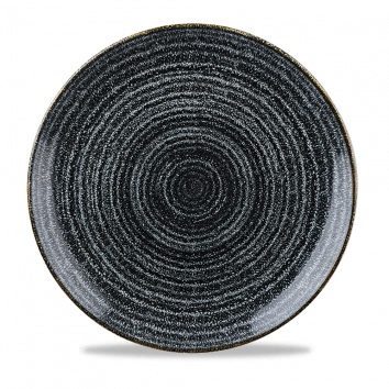 Studio Prints Charcoal Black coupe bord 26 cm