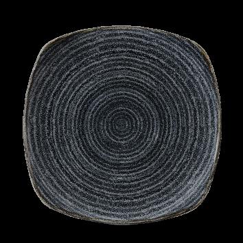 Studio Prints Charcoal Black bord vierkant 21,5 cm