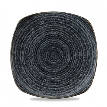 Studio Prints Charcoal Black bord vierkant 25,2 cm
