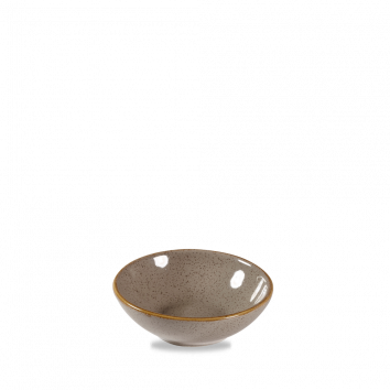 Stonecast Peppercorn Grey shallow bowl 20 cl