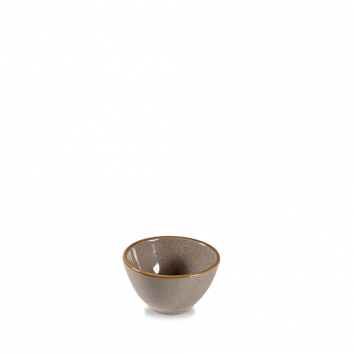 Stonecast Peppercorn Grey dip pot 6 cl