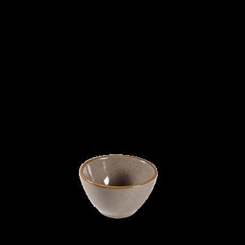 Stonecast Peppercorn Grey dip pot 11 cl