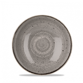 Stonecast Peppercorn Grey coupe bowl 18,2 cm
