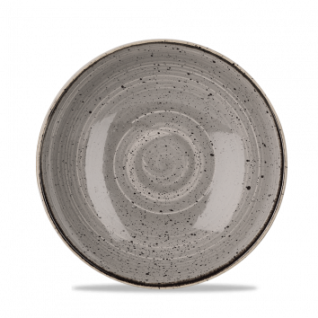 Stonecast Peppercorn Grey coupe bowl 24,8 cm