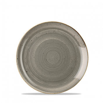 Stonecast Peppercorn Grey coupe bord 16,5 cm