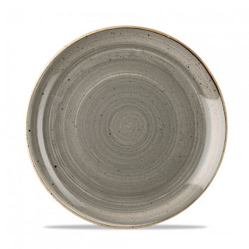 Stonecast Peppercorn Grey coupe bord 21,7 cm