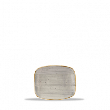 Stonecast Peppercorn Grey chef`s oblong plate 15,4 x 12,6 cm