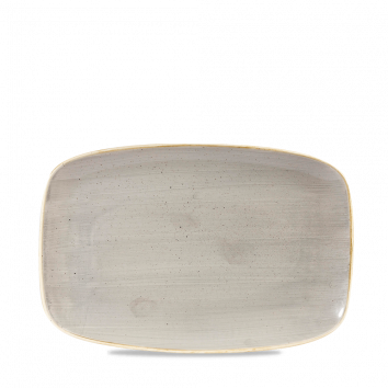 Stonecast Peppercorn Grey chef`s oblong plate 23,7 x 15,7 cm