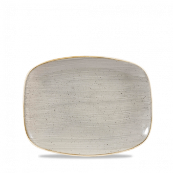 Stonecast Peppercorn Grey chef`s oblong plate 26,1 x 20,2 cm