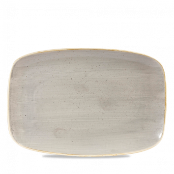 Stonecast Peppercorn Grey chef`s oblong plate 30 x 19,9 cm