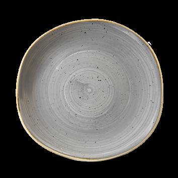 Stonecast Peppercorn Grey organic bord plat 26,4 cm