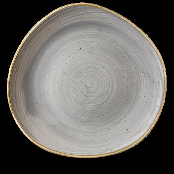Stonecast Peppercorn Grey organic bord plat 28,6 cm
