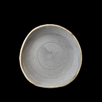 Stonecast Peppercorn Grey organic bord plat 18,6 cm
